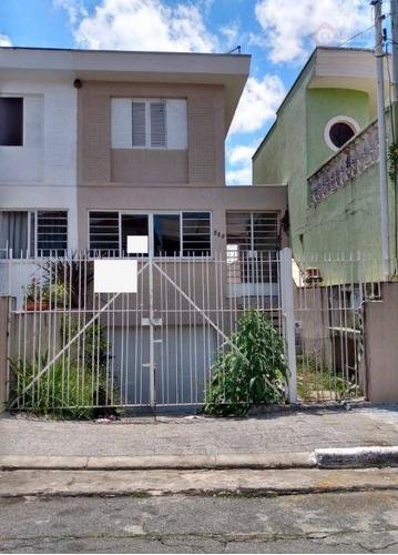 Sobrado Com 3 Dormitórios Sendo 1 Suite , Garagem Para 5 Carros À Venda, 180 M² Por R$ 750.000 - Jardim Vila Formosa - São Paulo/sp - So1214