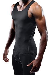 Playera Compresion Top Tank Gym Licra Crossfit Hombre