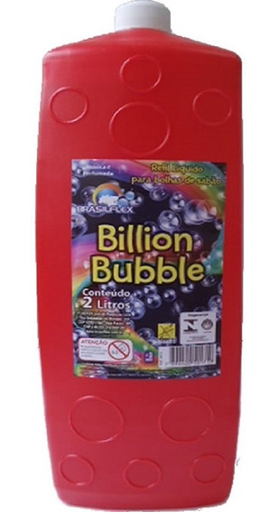 Refil De Bolha De Sabão 2 L - Billion Bubble