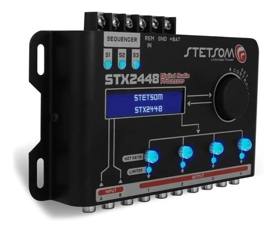Processador De Audio Digital Equalizador Stx2448 Stetsom Som