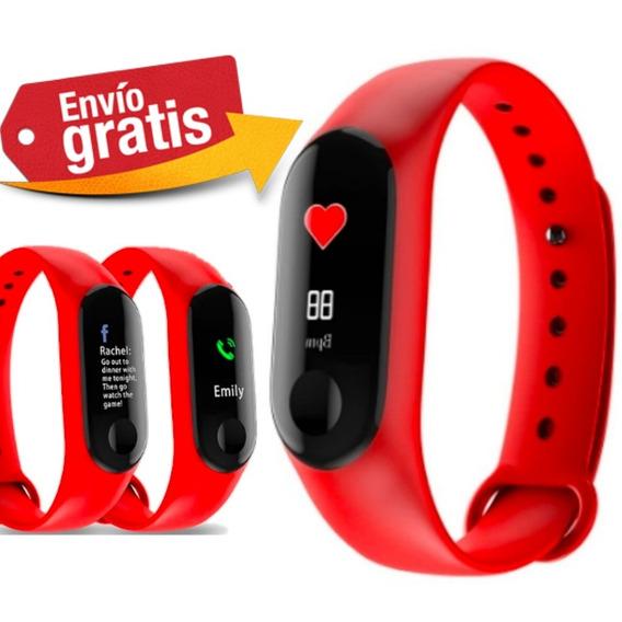 Reloj Inteligente - Ritmo Cardiaco / Calorias - Envio Gratis