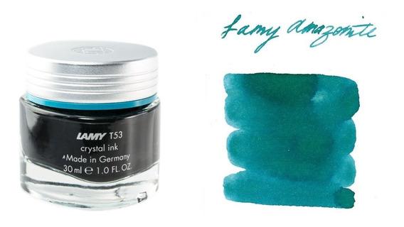 Tinta Lamy Crystal T53 Estilografica X 30 Ml Amazonita