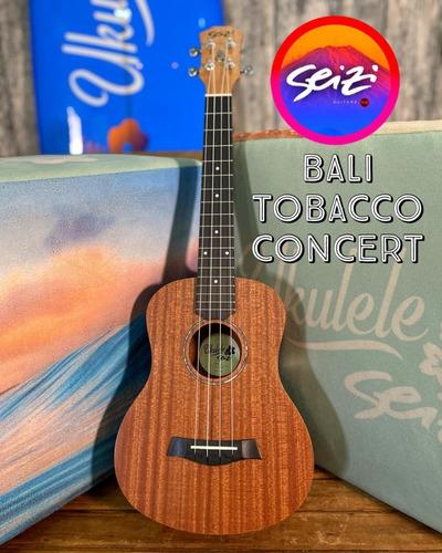 Ukulele Seizi Bali Concert Acústico Tobacco