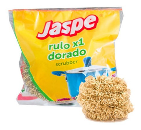 Esponja De Cocina Rulo Bronce Jaspe