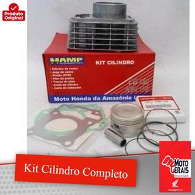 Kit Cilindro Completo Cg150/nxr150-original Honda Hamp-04/11