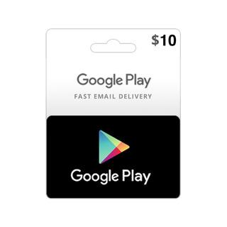 Código De Google Play $10 Wallet Usa. Apps Y Juegos Android