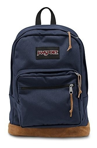 Mochila Jansport Right Pack Base De Cuero Portanotebook 15