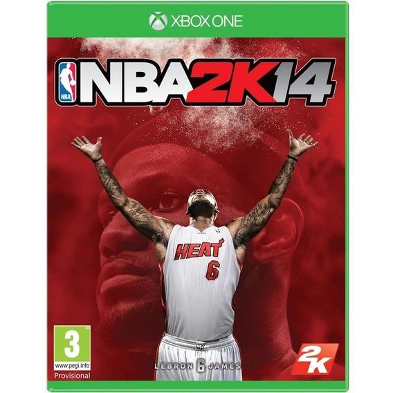 Jogo Nba 2k14 Xbox One Disco Fisico Game Novo Promoção