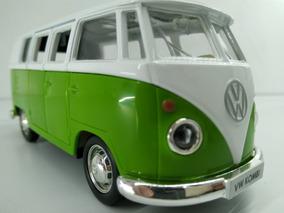Kombi Miniatura Carrinho Ferro Volkswagen Perua Várias Cores