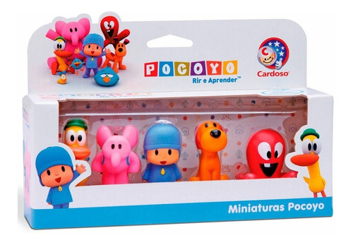 Imagem 1 de 3 de Turma Do Pocoyo Dedoche Miniatura Cardoso Toys Infantil