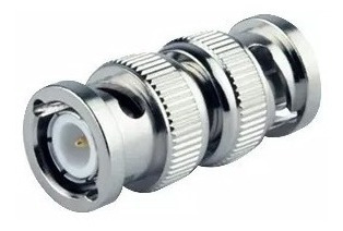 Imagen 1 de 4 de Ficha Bnc Conector Macho Macho X 10 Unidades