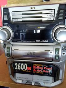 Micro System Jvc Mxj500 Com Defeito