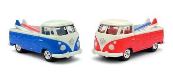 Volkswagen Pickup Johnny Lightning 2 Variantes Solo Envios
