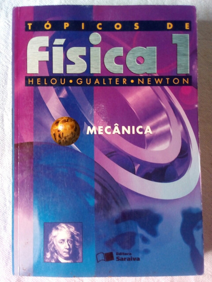 Tópicos De Física 1 Livro Seminovo Envio Módico