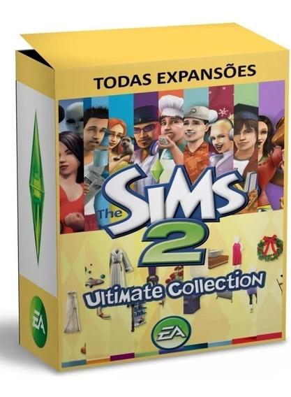 The Sims 2 - Todas As Expansões - Digital - Pc
