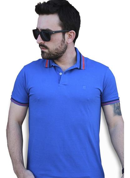 Camiseta Polo Slim Fit Masculina Original Com Nf
