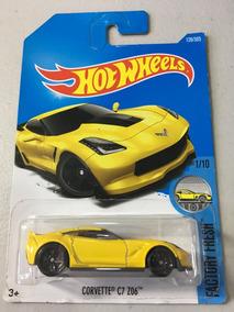 Hot Wheels - Corvette C7 Z06 - Factory Fresh - Amarela