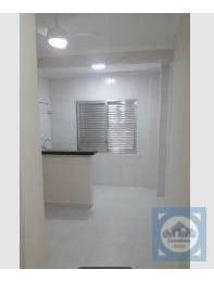 Kitnet Com 1 Dormitório Para Alugar, 27 M² Por R$ 950/mês - Centro - São Vicente/sp - Kn0503