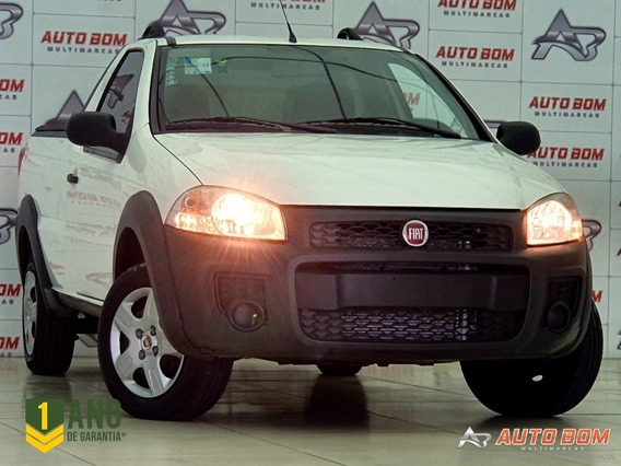 Fiat Strada Hard Working 1.4 8v Flex 2018 Completa Impecável