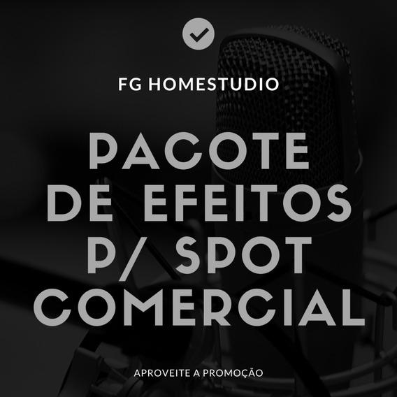 Mega Pacote De Efeitos Para Spot Comercial- Promoção!