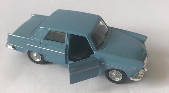 Aero Willys - Escala 1/33 - Azul - Miniatura Colecionável