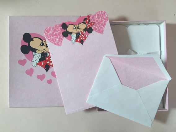 Cartitas Disney Minnie Y Mickey
