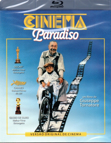 Blu-ray Disc Cinema Paradiso - Versatil - Bonellihq Z20
