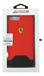 iPhone Plus 8 7 6 Ferrari Rubber Rojo 5.5pulg