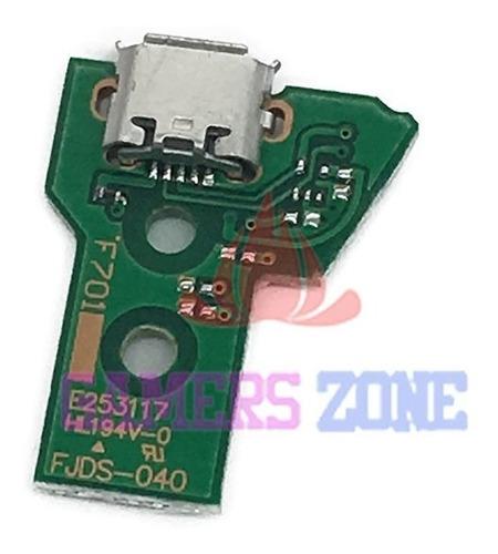 Conector O Pin De Carga Joystick Ps4 Jds040 O F701 -12 Pines