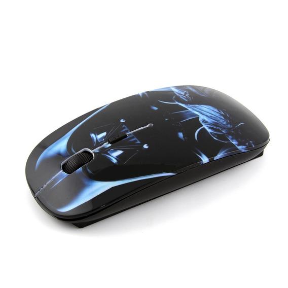 Mouse Wireless Darth Vader Star Wars Frete Grátis