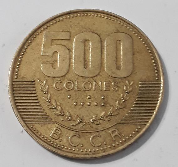 Moneda 500 Colones 2003 Costa Rica.