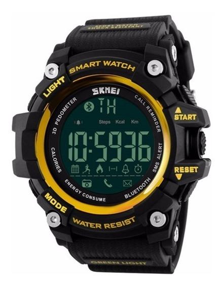 Smart Watch Skmei 1227 Bluetooth - 50 M - Lançamento 2017