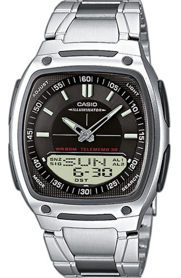 Relógio Casio Digital Masculino Aw81 - 100% Original C/ Nf