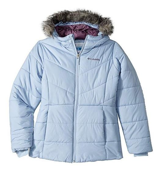 Chamarra Columbia Para Niña 4-18 Termica Alpina Frio Xtrem