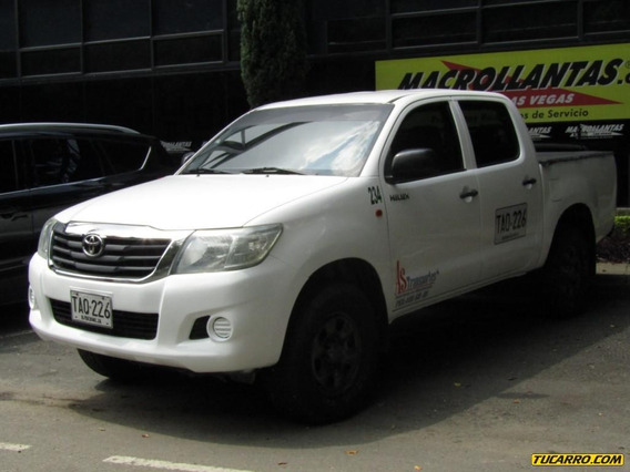 Toyota Hilux 2500 Cc 4x4