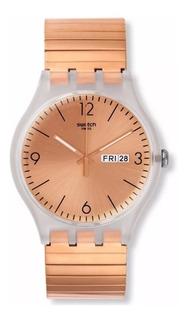 Reloj Swacht Mujer Suok 707 Rostfrei Original Dorado Talle B