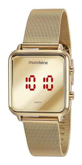 Relógio De Pulso Unisex Mondaine 32008mpmvde1