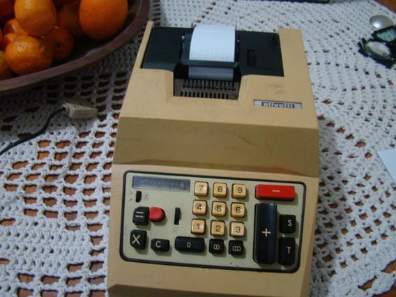 Calculadora Antiga Olivetti Multisumma 20 , Ind. Argentina