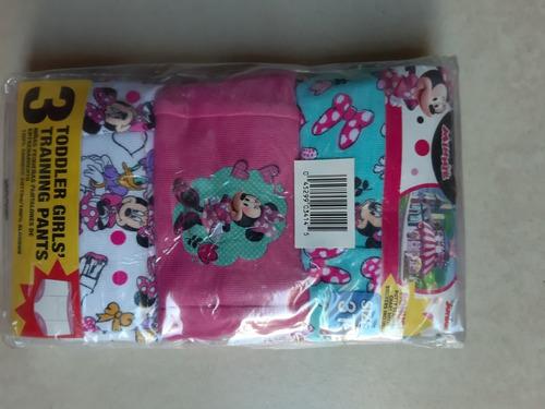 Bombachas De Aprendizaje Pack X 3 Minnie / Talle 2 Años!