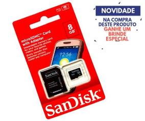 Cartão Memória Micro Sandisk 8gb Original