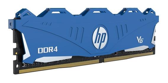 Memoria Ram Pc 8gb Hp V6 Ddr4 3000mhz Dimm Oc Heatsink Gtia