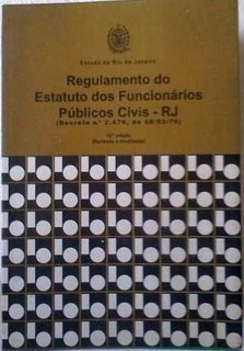 Regulamento Do Estatuto Dos Funcionarios Publicos Civis Rj
