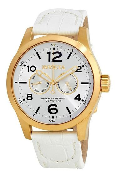 Lindo Relógio Invicta Specialty 12174 Gold Original Completo