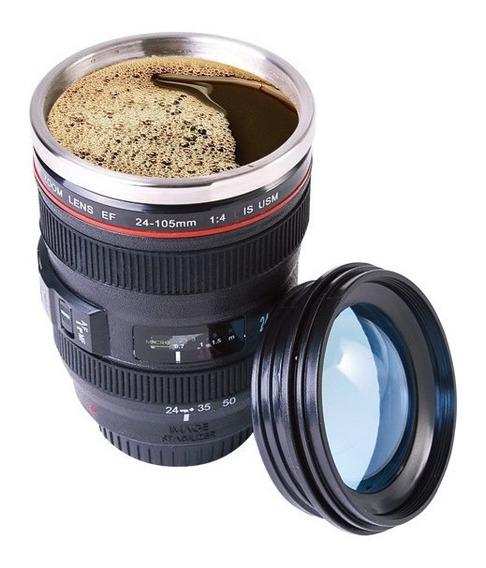 Vaso Termico Con Diseño De Lente De Cámara De Foto 24-105mm