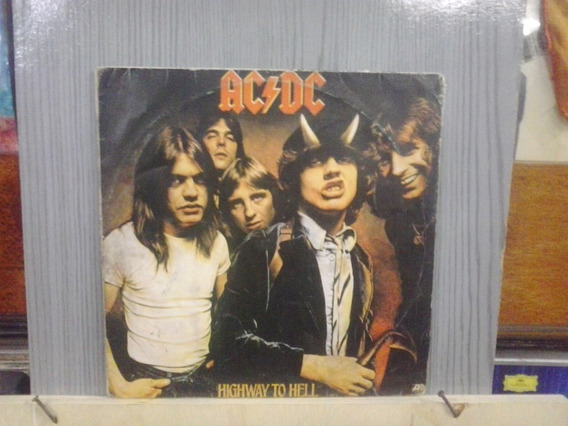 Lp - Nac - Ac/dc - Highway To Hell - Frete 15