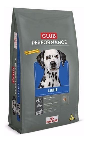 Ração Royal Canin Club Performance Light Cães Obesos 15 Kg