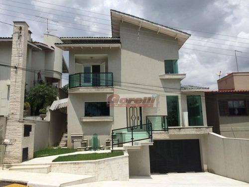 Casa Com 2 Dormitórios À Venda, 350 M² Por R$ 1.150.000,00 - Condomínio Arujazinho Iv - Arujá/sp - Ca0438