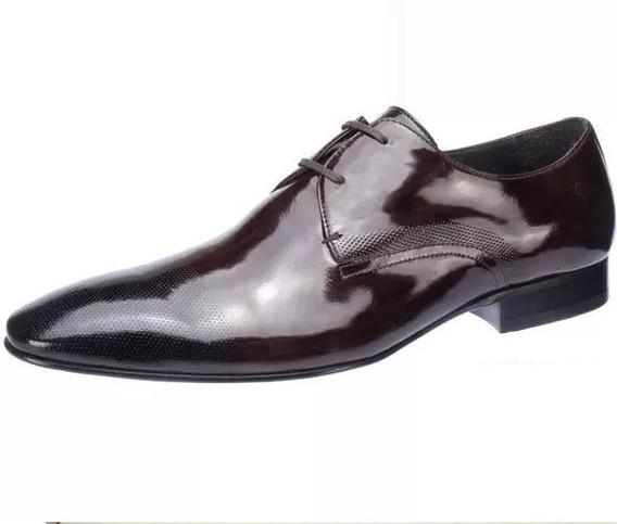 Zapato Democrata Hombre Acordonado Carraro Brush Off Cuotas