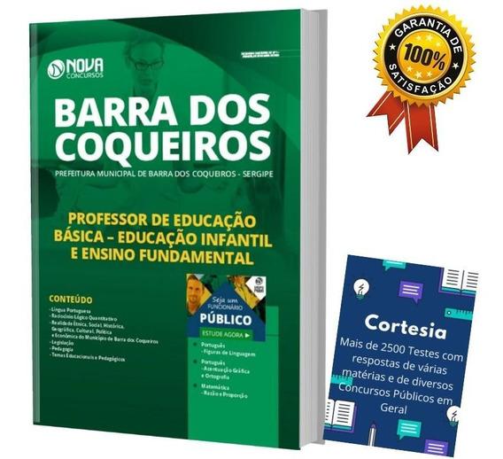 Apostila Barra Dos Coqueiros - Professor Ensino Fundamental
