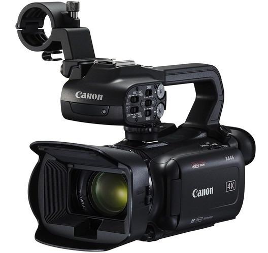 Câmera Filmadora Canon Xa45 Profissional Uhd 4k Camcorder